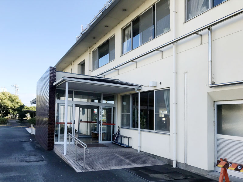 防滑施工事例ポータルサイト静岡県浜松市 高齢者福祉施設